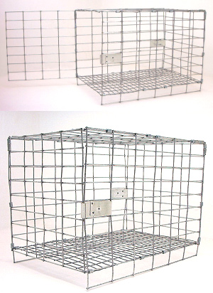 3 Show / Grading Cages Chinchilla