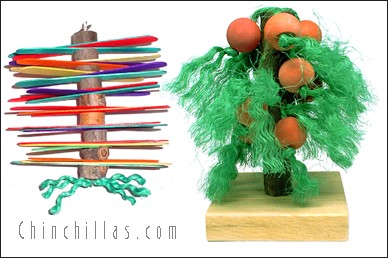 Whirly Twirly & Apple Tree Toy Chinchilla