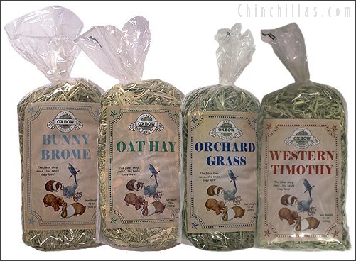 Oxbow Grass Hay Variety Pack Chinchilla