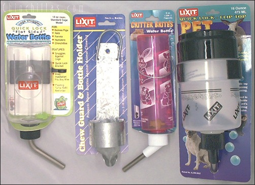 Lixit Water Bottle Variety Pack Chinchilla