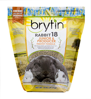 Brytin®  Rabbit 18 – Junior & Producer Timothy Formula -854147007008